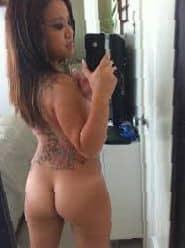 Findest du meine Tattoos und meinen Arsch geil?